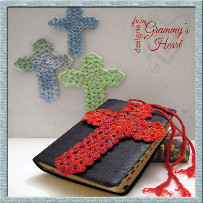 Beauty For Ashes Bookmark Free Crochet Pattern