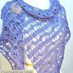 Butterfly Fling Wrap ~ Kim Guzman - CrochetKim