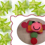 Monkeyroo 7 (Baby Rattle) ~ Craftybegonia's Funmigurumi and Kids' Stuff