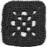 Checkerboard Square by Age's Crochet Pages