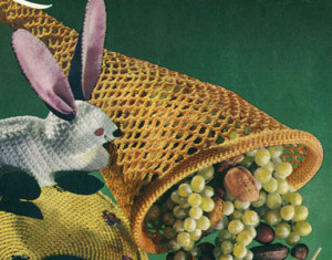 Cornucopia Pattern ~ Free Vintage Crochet