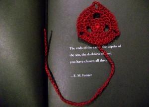 Tripoint Bookmark ~ Candace - Crochet Spot