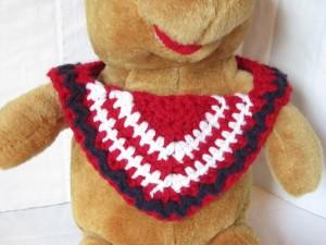 Bandanna Baby Bib ~ Crochet is the Way