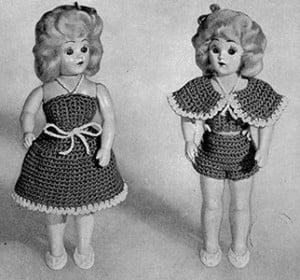Debbie Doll ~ Free Vintage Crochet