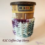 ESC Cup Sleeve ~ Rhelena - CrochetN'Crafts