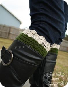Eva Boot Cuffs ~ Divine Debris