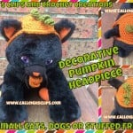 Decorative Pumpkin Headpiece ~ Elisabeth Spivey - Calleigh's Clips & Crochet Creations