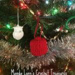 Fez Ornament ~ Manda Proell - MandaLynn's Crochet Treasures