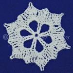 Autumn's Last Stand Snowflake ~ Snowcatcher