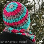 Cables and Stripes Hat ~ Diane Hunt – Cre8tion Crochet