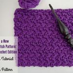 Grit Stitch Tutorial & Dishcloth ~ The Stitchin' Mommy