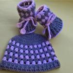 Booties and Hat ~ aamragul – Crochet/Crosia Home