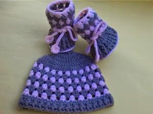 Booties and Hat ~ aamragul - Crochet/Crosia Home