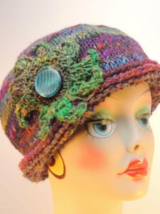 Maura Rolled Brim Hat ~ Kim Guzman - CrochetKim