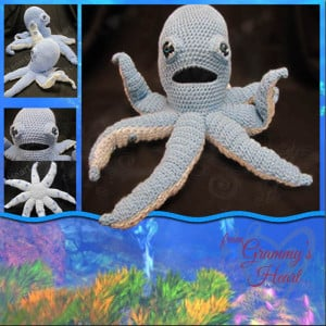 Ollie The Octopus ~ Designs from Grammy's Heart, with Love