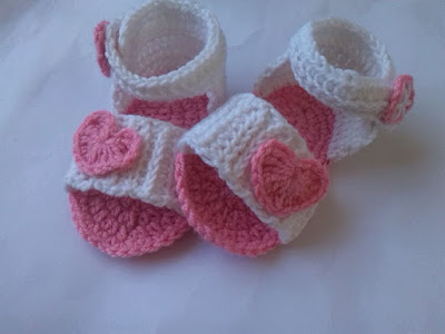 Step by Step Baby Crochet Sandal ~ aamragul - Crochet/Crosia Home