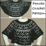 Bernat Satin Petite Lacy Poncho ~ Rhelena - CrochetN'Crafts
