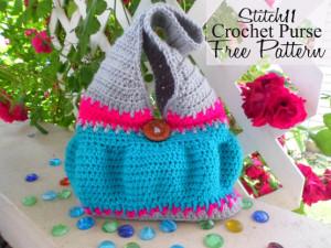 Stitch11 Crochet Purse ~ Stitch11
