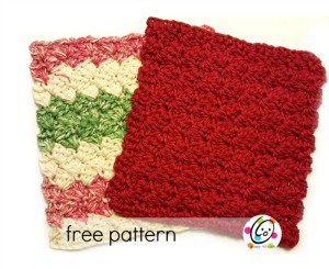 Scalloped Wash Cloth ~ Snappy Tots