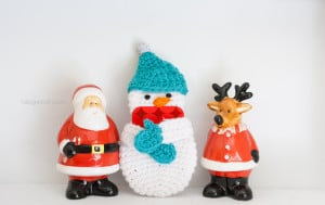 Snowman Gift Card Holder ~ One Dog Woof