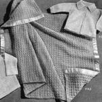 Crib Cover ~ Free Vintage Crochet