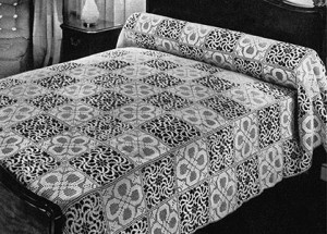 Stepping Stones Bedspread ~ Free Vintage Crochet