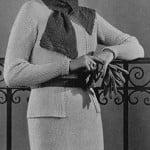 Tuxedo Dress ~ Free Vintage Crochet