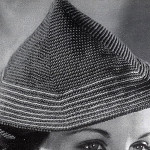 Coolie Hat #291 ~ Free Vintage Crochet