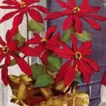 Poinsettia ~ Free Vintage Crochet