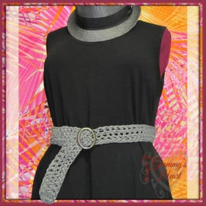 Grammy, Teach Me to Crochet Belt ~ Designs from Grammy's Heart, with Love