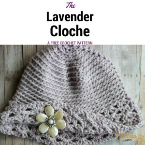 The Lavender Cloche ~ Chaleur Life - My Hobby is Crochet