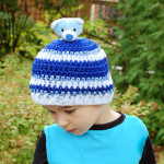 """Top This"" Child Crochet Hat ~ Petals to Picots"