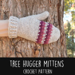 Tree Hugger Mittens by Gleeful Things