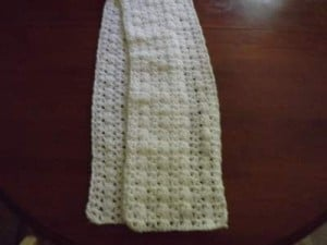 Ashley's Winter Scarf ~ Barb's Free Crochet Patterns