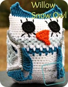 Willow Snow Owl ~ Divine Debris
