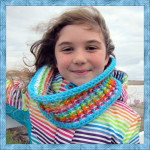Winter's Infinity Rainbow ~ Designs from Grammy's Heart, with Love