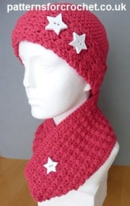 Cowl & Beanie ~ Patterns For Crochet
