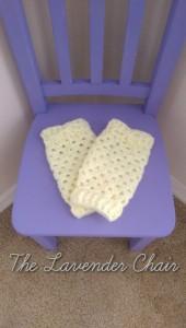 Granny Stitch Baby Legwarmers ~ Dorianna Rivelli - The Lavender Chair