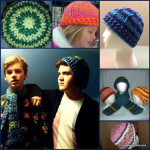 Raised Stripes Hat by Jessie At Home