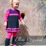 Ella's Request – Toddler Dress by Stitch11