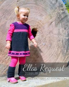 Ella's Request - Toddler Dress by Stitch11