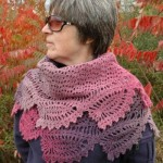 Tulip Reverie Shawl by ABC Knitting Patterns