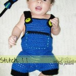 Infant Overalls – Size 3 Months by Stitch11