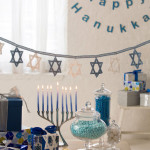 Hanukkah Banner by Randy Cavaliere for Red Heart