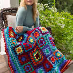 Make a Blanket Statement by Lucy O'Regan and Bobbie Anderson for Red Heart