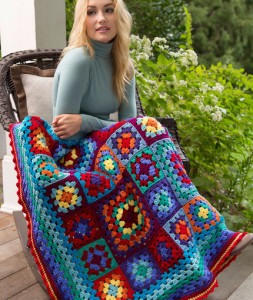 Make a Blanket Statement by Lucy O'Regan and Bobbi Anderson for Red Heart