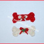 Dog Bone Ornament by Sara Sach of Posh Pooch Designs