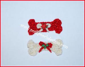 Dog Bone Ornament by Sara Sach of Posh Pooch Designs