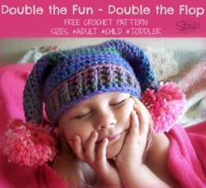 Double the Fun - Double the Flop Hat by Stitch11