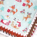 Fox and Reindeer Edging by Repeat Crafter Me